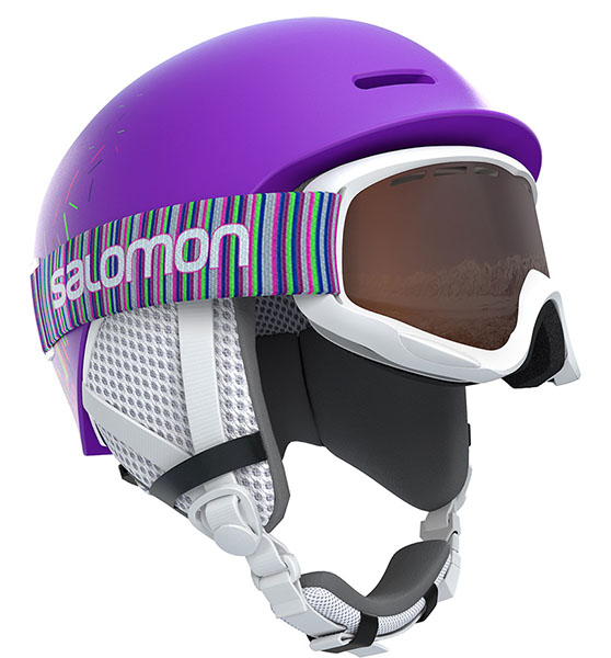 Шлем GROM Purple Mat
